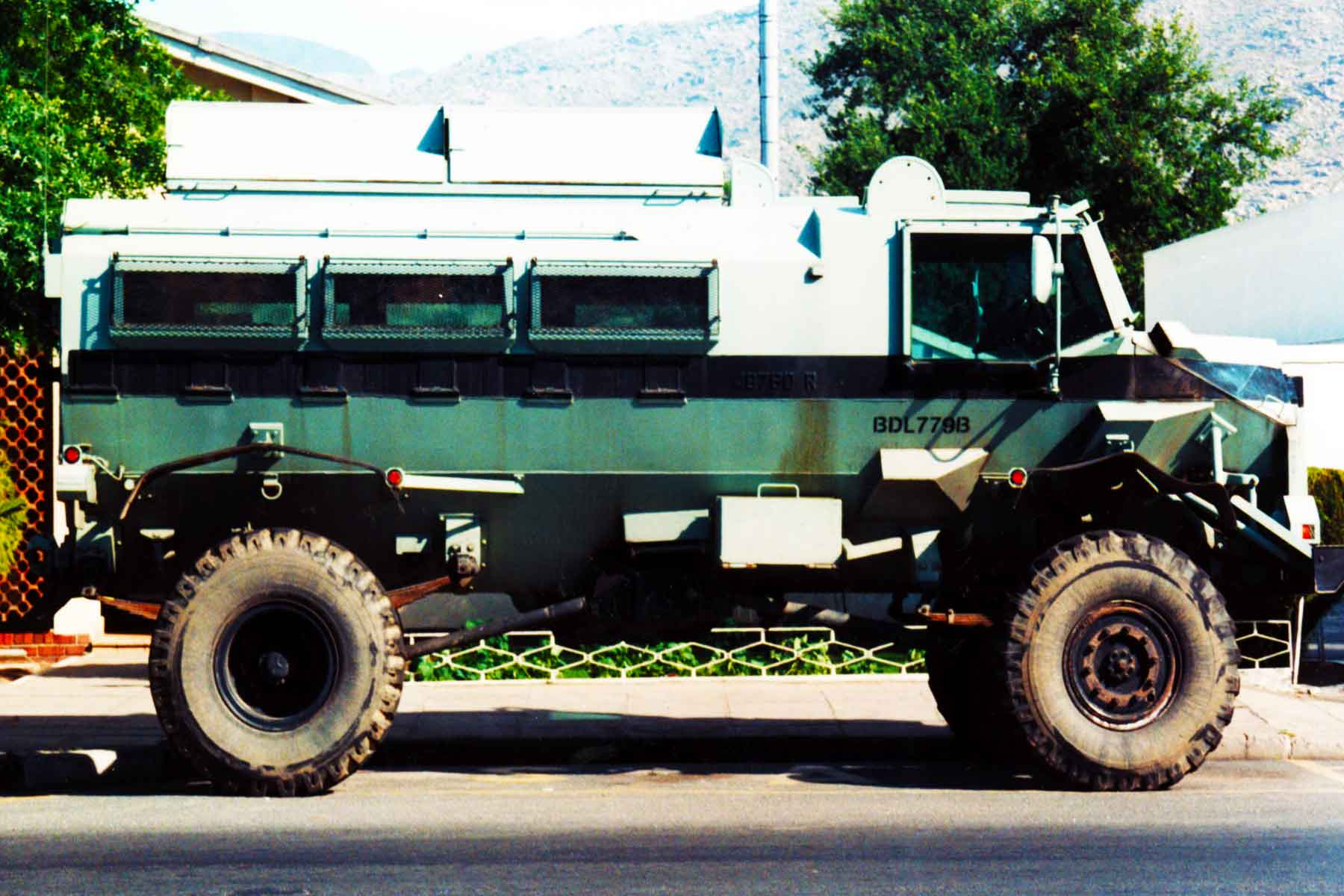 Casspir   Mine Protected Vehicle (MPV)   Soweto, South Africa   Steven Andrew Martin   Photo Journal