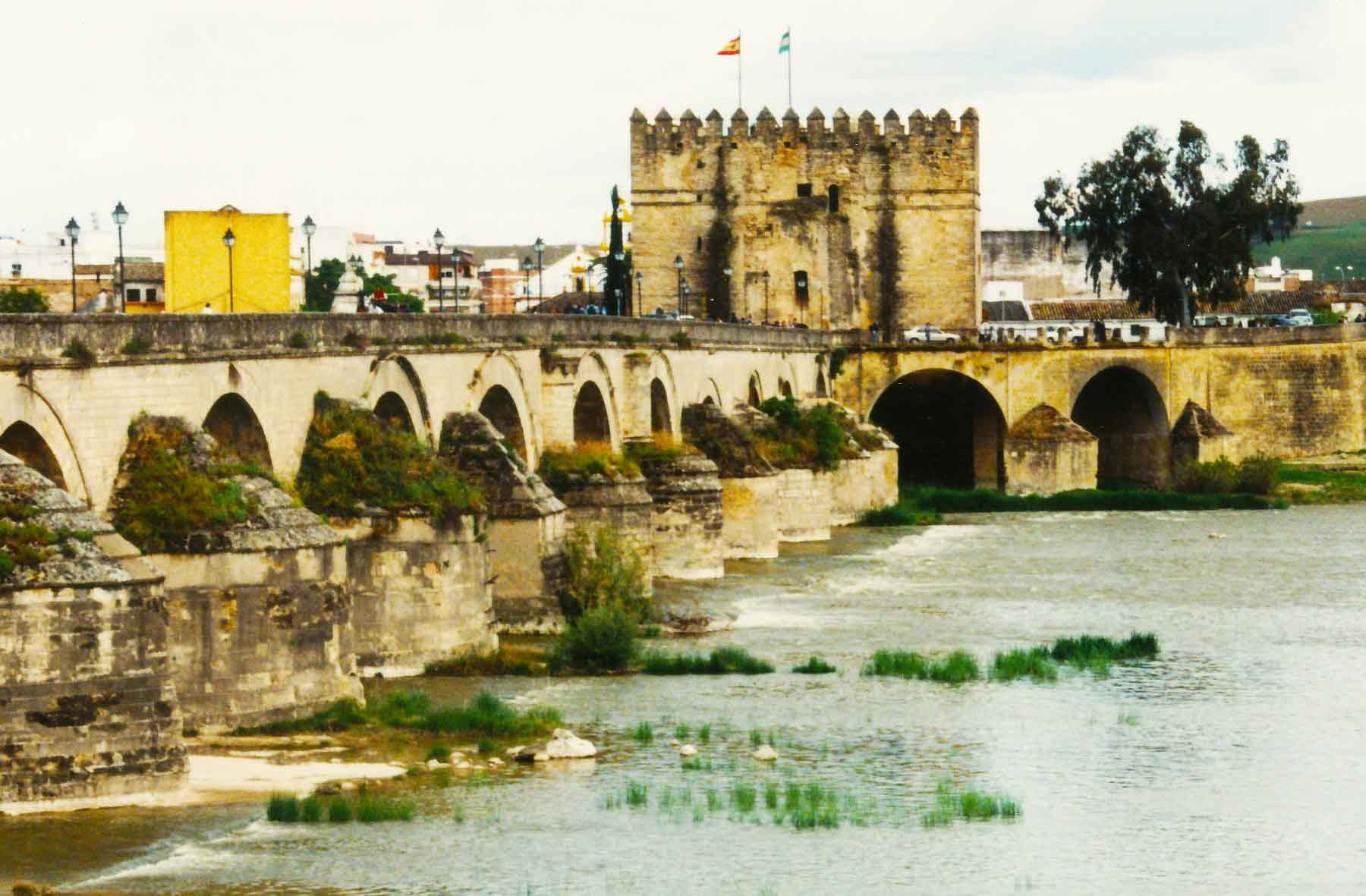 Cordoba - Roman Bridge - Spain - Steven Andrew Martin - Study Abroad Journal 1998