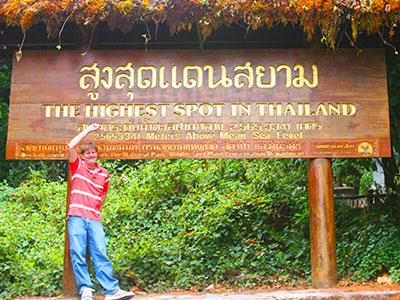 Thai Geography Teacher Dr Steven A Martin | Doi Inthanon, Chiang Mai | Thai Studies Research