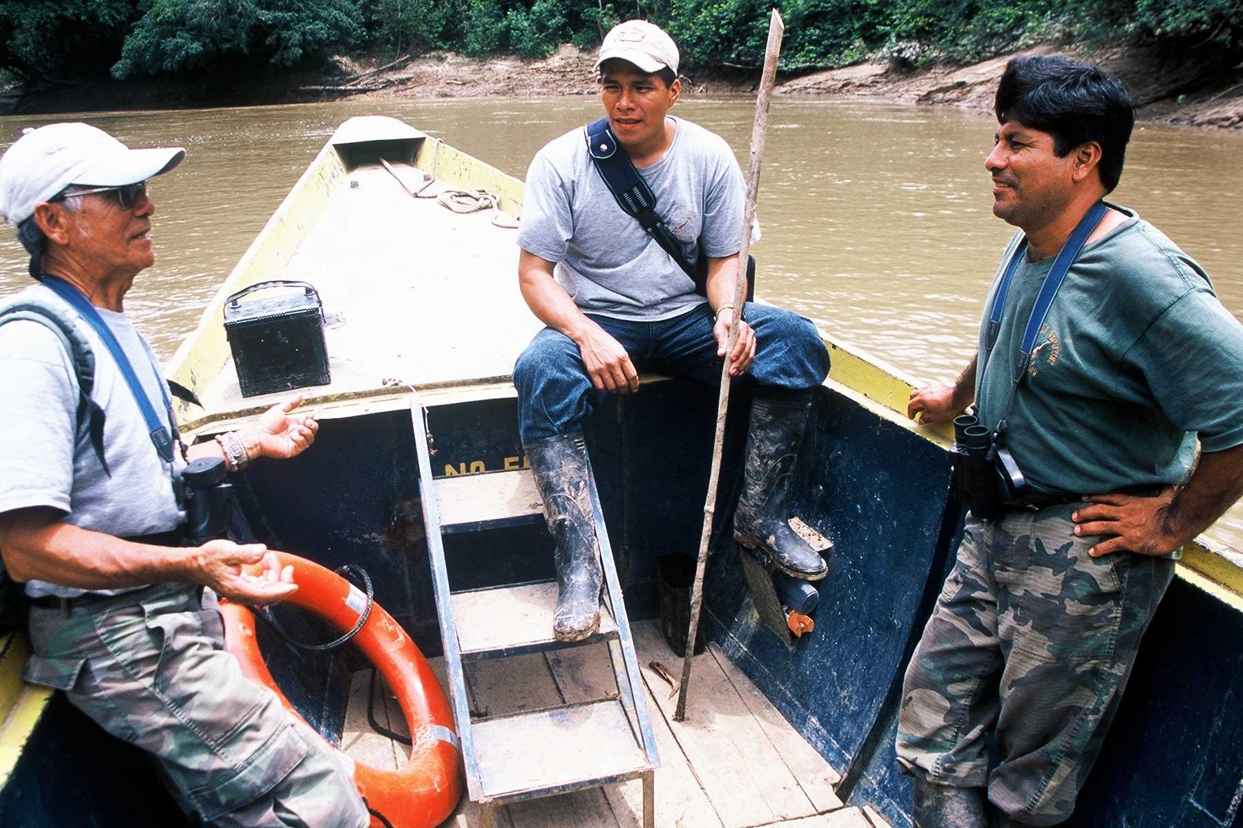 Quechua Indian Guides | Amazon Photo Journal | Dr Steven A Martin | Tiputini Biodiversity Station Ecuador