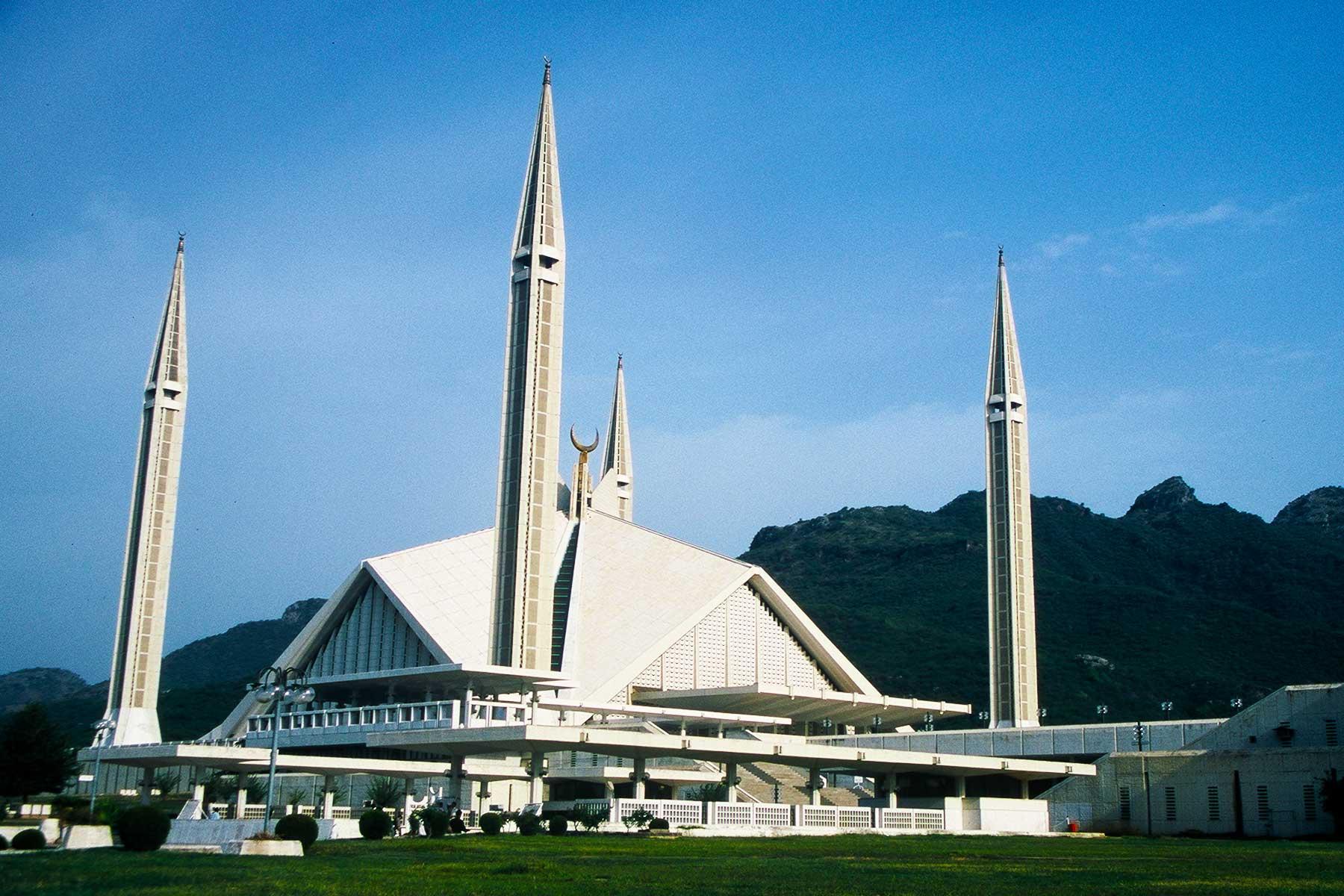 Faisal Mosque Islamabad - Steven A Martin PhD -  Islam in Pakistan - Pakistan Photo Journal - Study Abroad