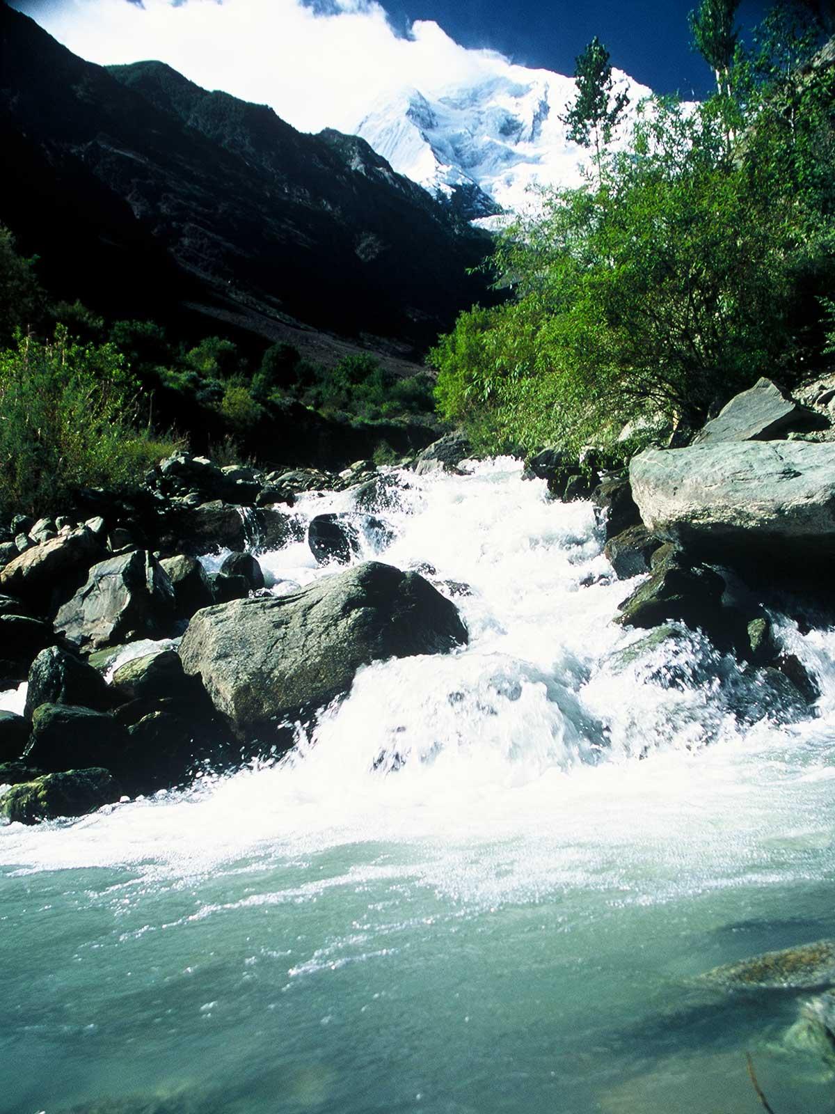 Hunza Valley | Gilgit-Baltistan- Global Warming - Pakistan - Photo Steven Martin PhD