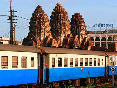 Central Thailand - Phra Prang Sam Yot, Lopburi - Thai Photo Journal - Dr Steven A Martin - Thailand Geography