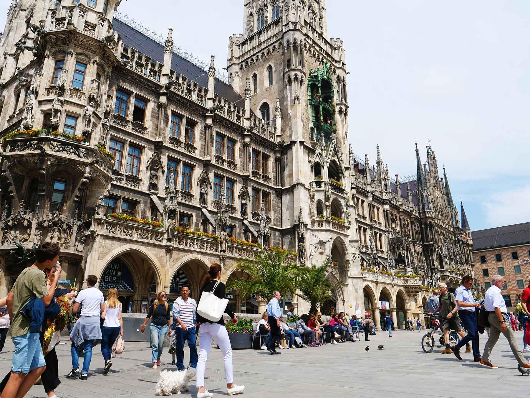 Marienplatz Munich Germany | Steven Andrew Munich | Surfing Munich | Bavaria