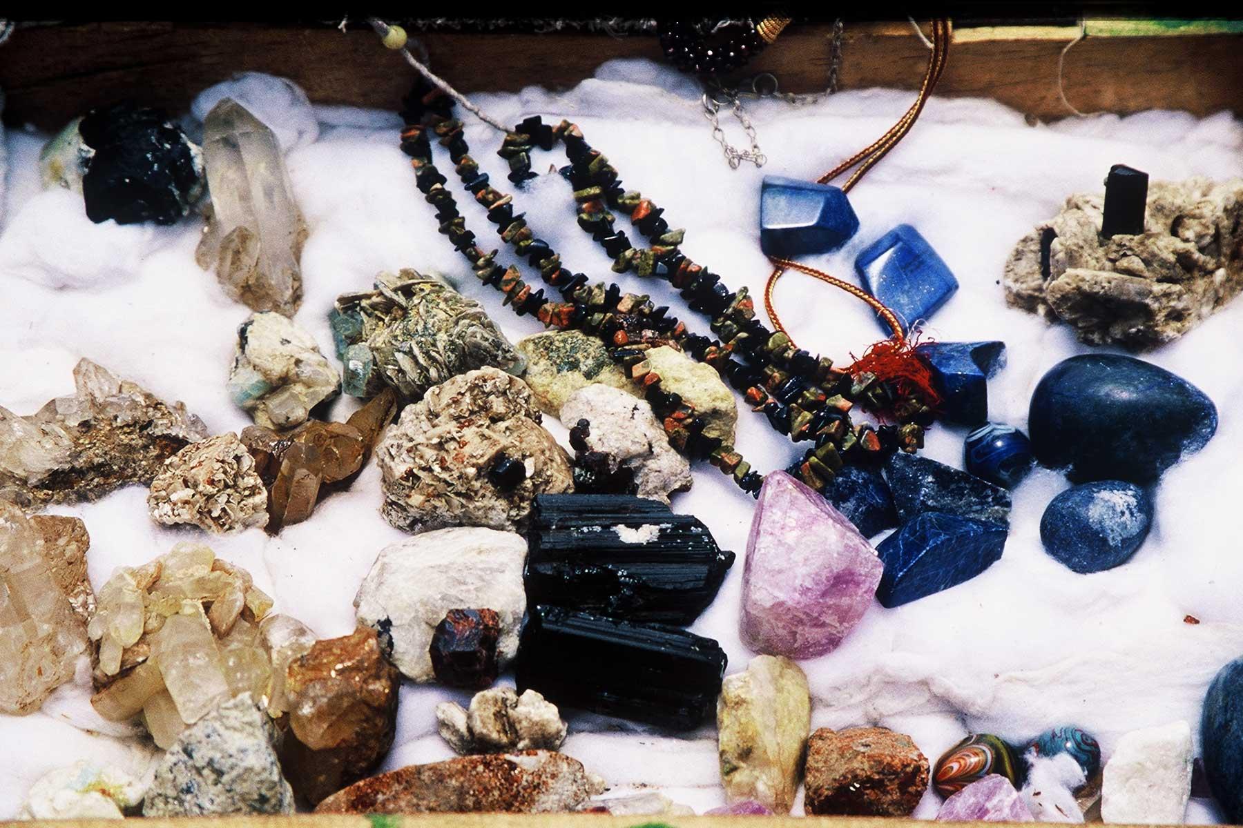 Nanga Parabat Gem Stones - Pakistan Photo Journal - Steven A Martin - Silk Road Research