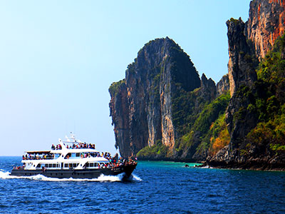 Southern Thailand - Phi Phi Island - Thai Photo Journal - Dr Steven A Martin - Thailand Geography