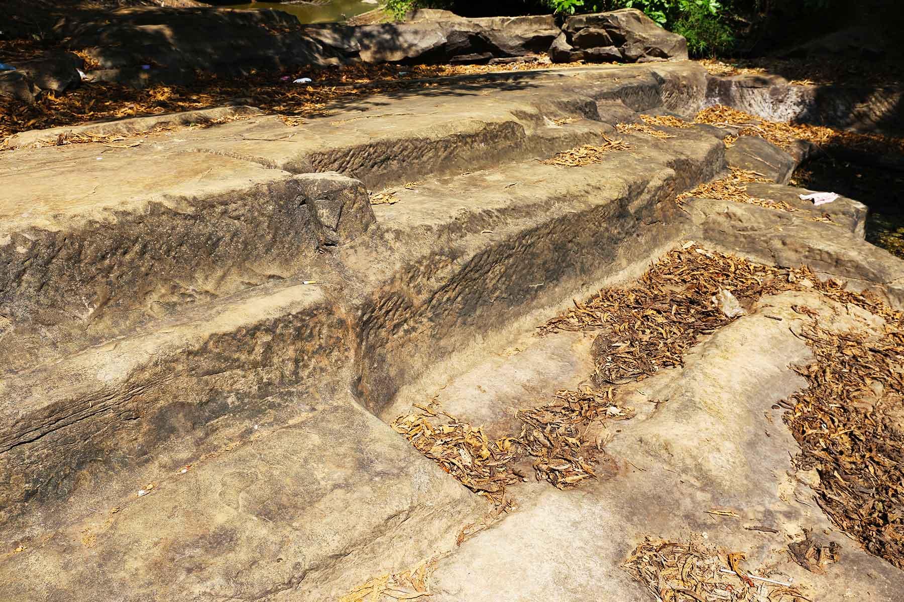 Phnom Kulen Sandstone Quarry - Khmer Sacred Mountain - Steven Andrew Martin PhD
