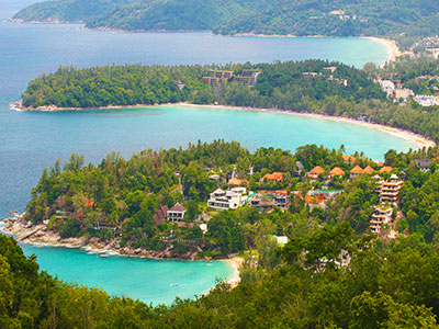 Kata Karon lookout point, Phuket, Thailand Photo Journal - Dr Steven Andrew Martin