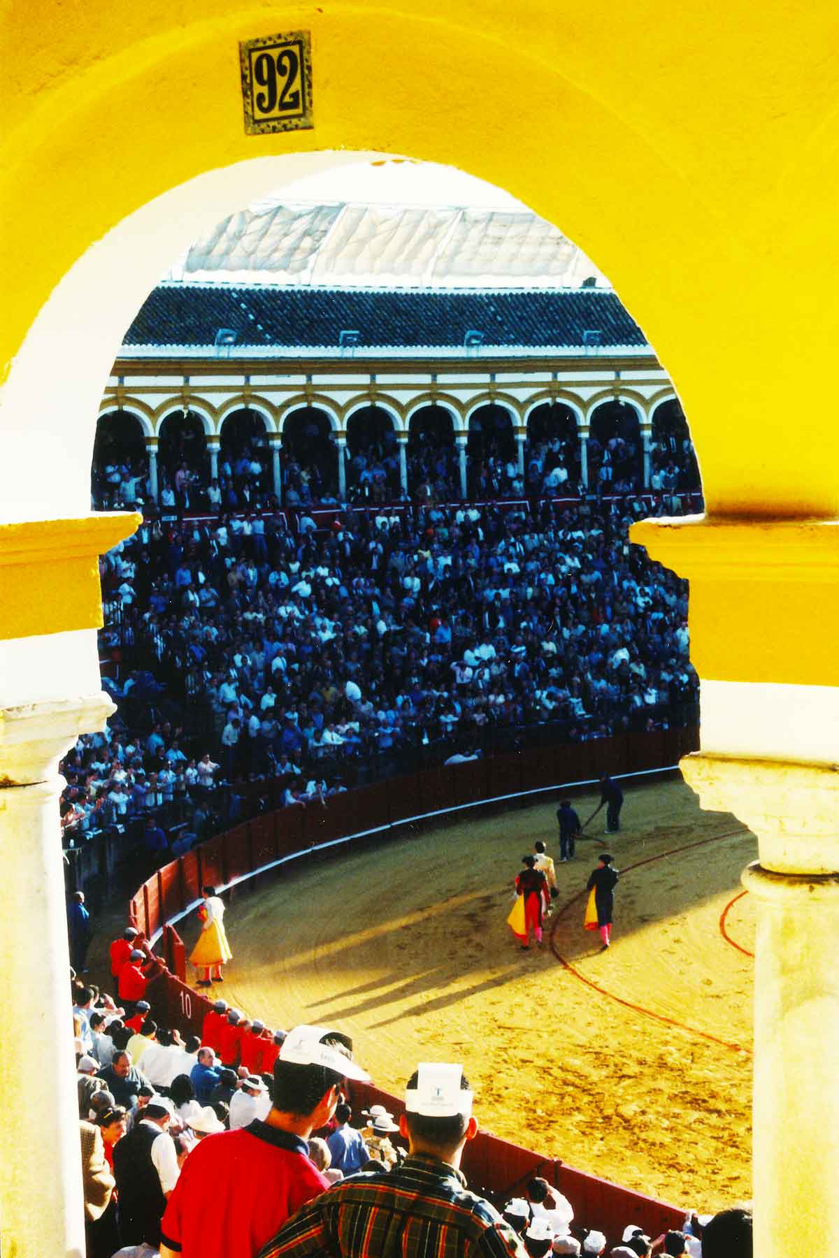 Seville Bullring 1998 - Steven Andrew Martin - Spain Photo Journal
