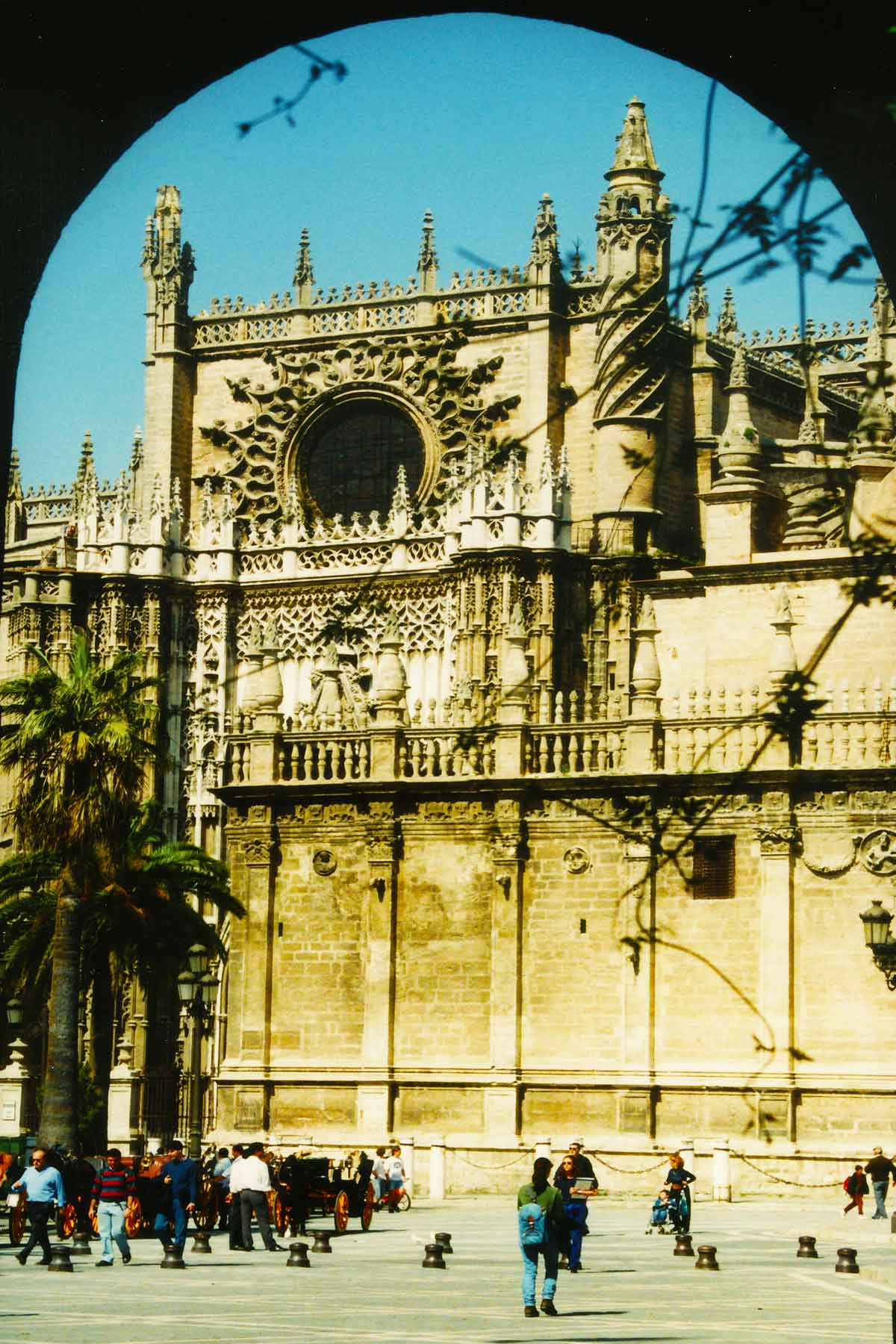 Seville Cathedral - Catedral de Seville - Steven Andrew Martin - Spain Photo Journal 1998