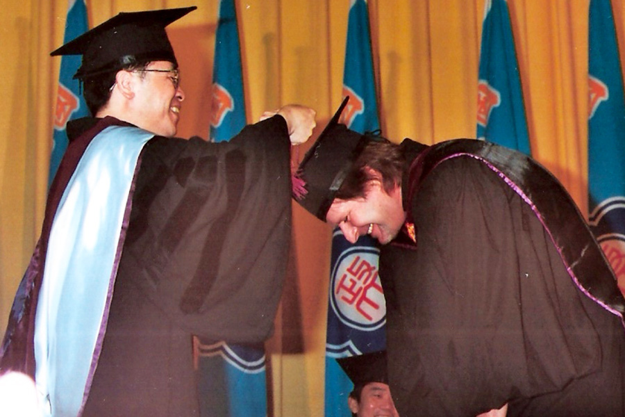 International Education | From GED to PhD | Dr Steven Andrew Martin | Graduation Day | National Chengchi University, Taiwan, 2006