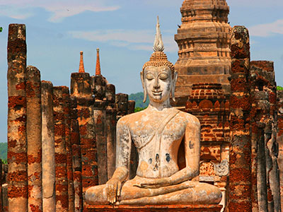 Sukhothai Kingdom (1238–1438) | Thailand Photo Journal | Steven Andrew Martin | Thai Geography