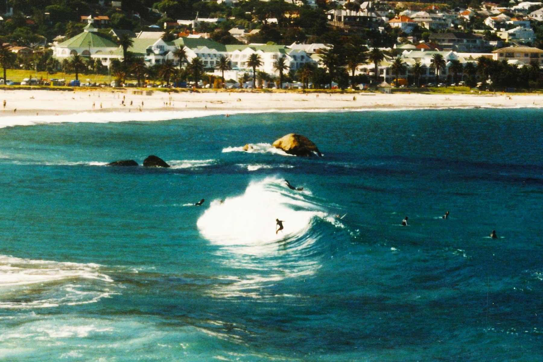 Surfer | Glen Beach | Cape Town South Africa | Steven Andrew Martin PhD | Surf Tourism Research