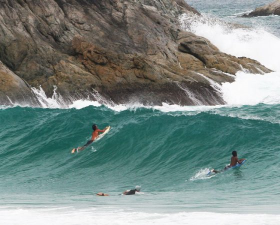 Surfing Thailand