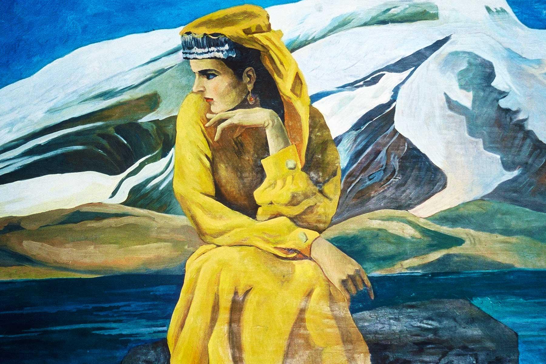 Tashkurgan | Tajik Woman | Xinjiang, China - Dr Steven Martin - Silk Road Research 2001