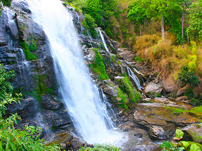 Vachiratharn waterfall -  Thailand Photo Journal - Steven Andrew Martin