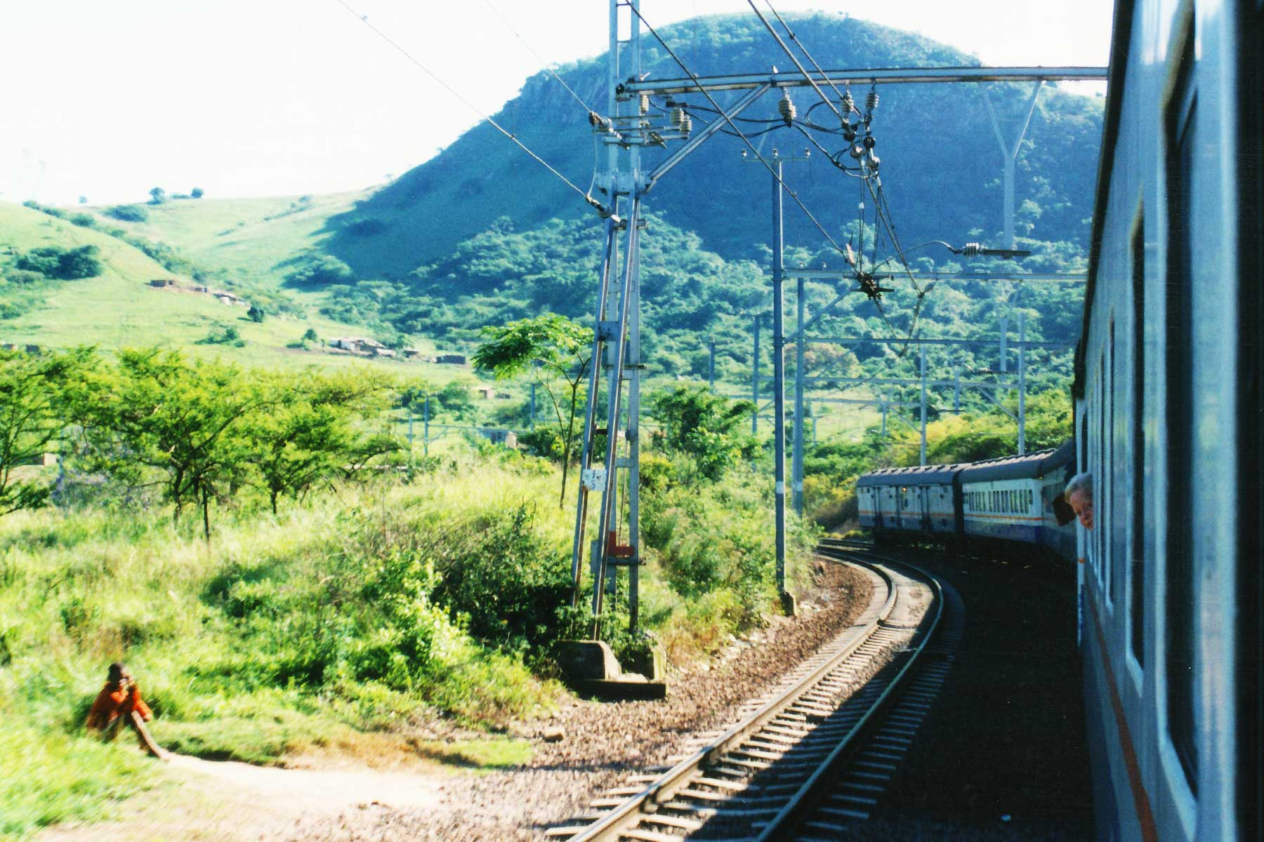 Trans-Karoo | South Africa Train | Johannesburg | Steven Andrew Martin | Study Abroad Journal | Dr. Steven Martin