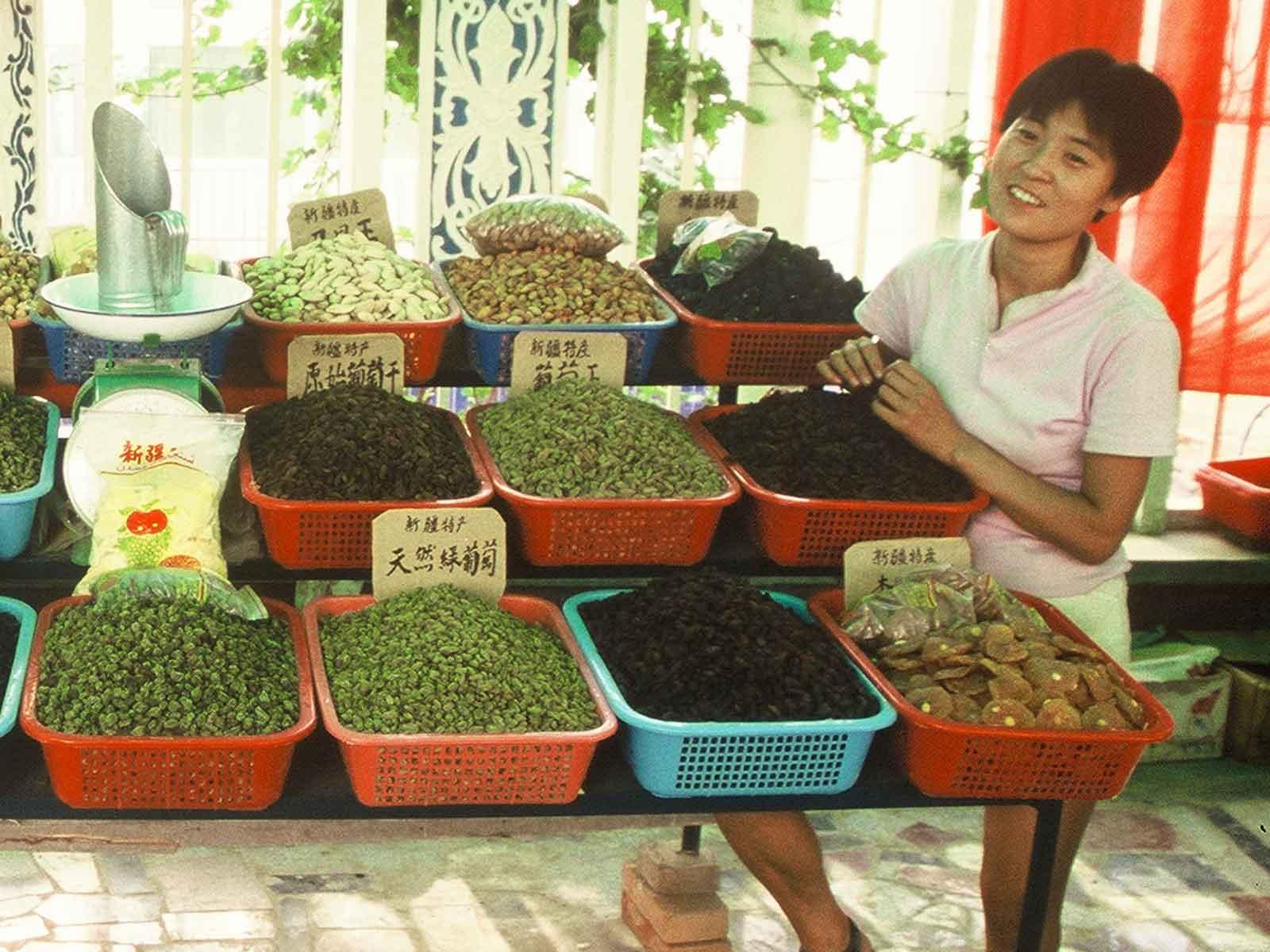 Turpan raisins - China Silk Road Photo Journal - Steven Andrew Martin - Eastern Civilization