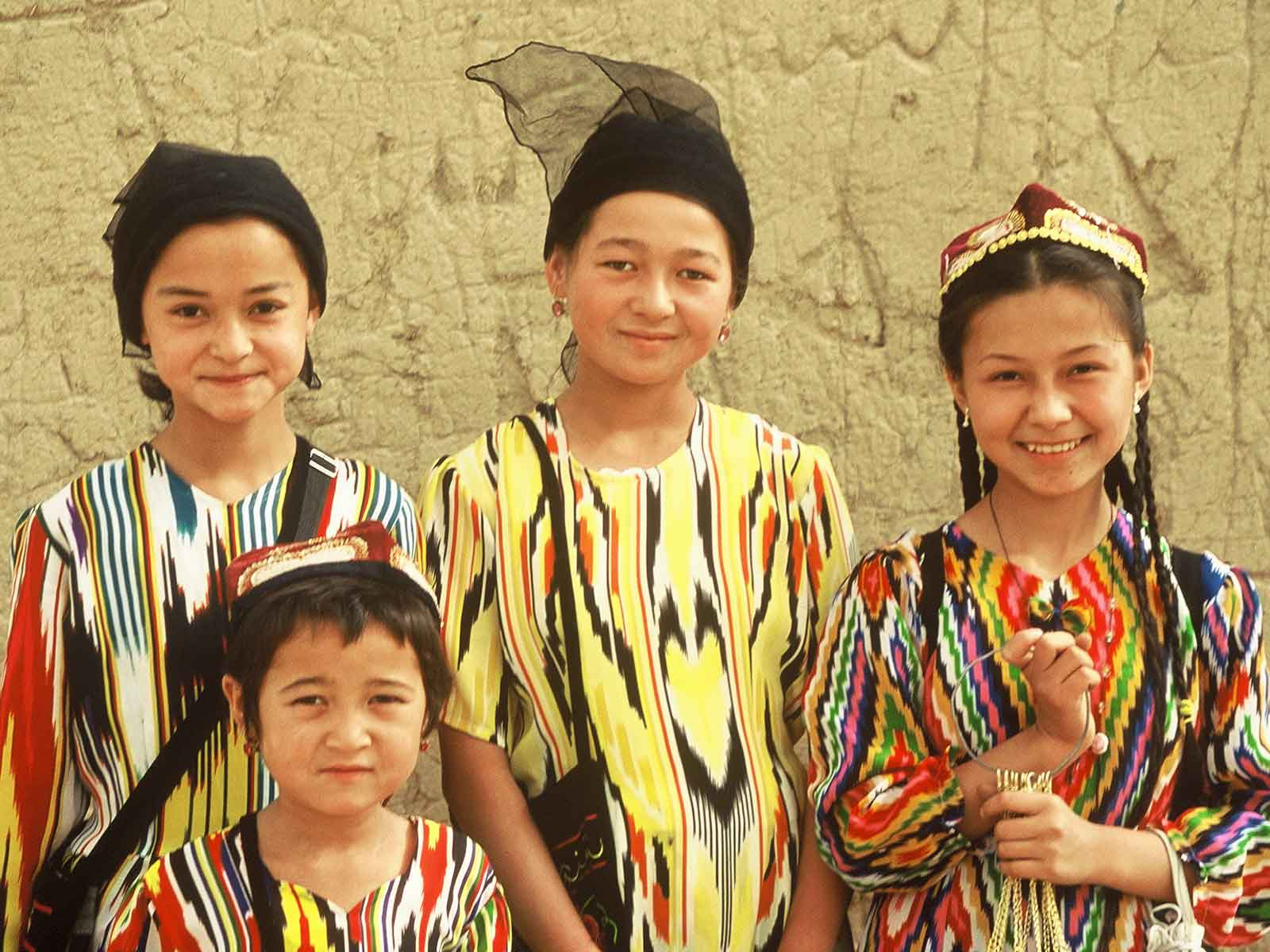 Uyghur youth - Geochang Ruins - China Silk Road Photo Journal - Steven Andrew Martin - Study Abroad Research