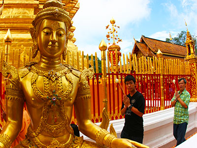 Wat Phra That Doi Suthep - Thailand Photo Journal - Steven Andrew Martin