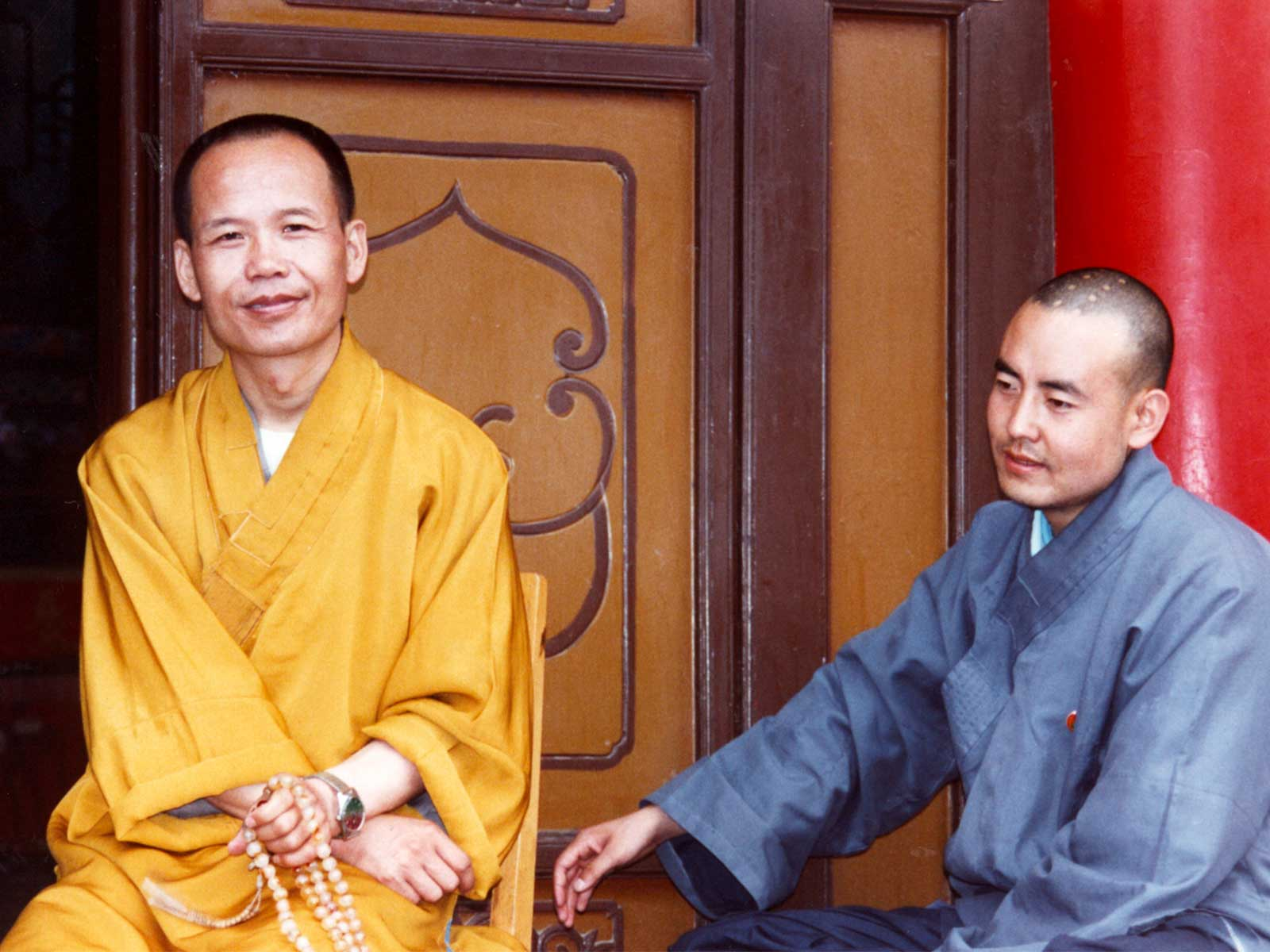 Ancient Silk Road - Monks in Xian, China - Steven A Martin PhD - Study Abroad Journal