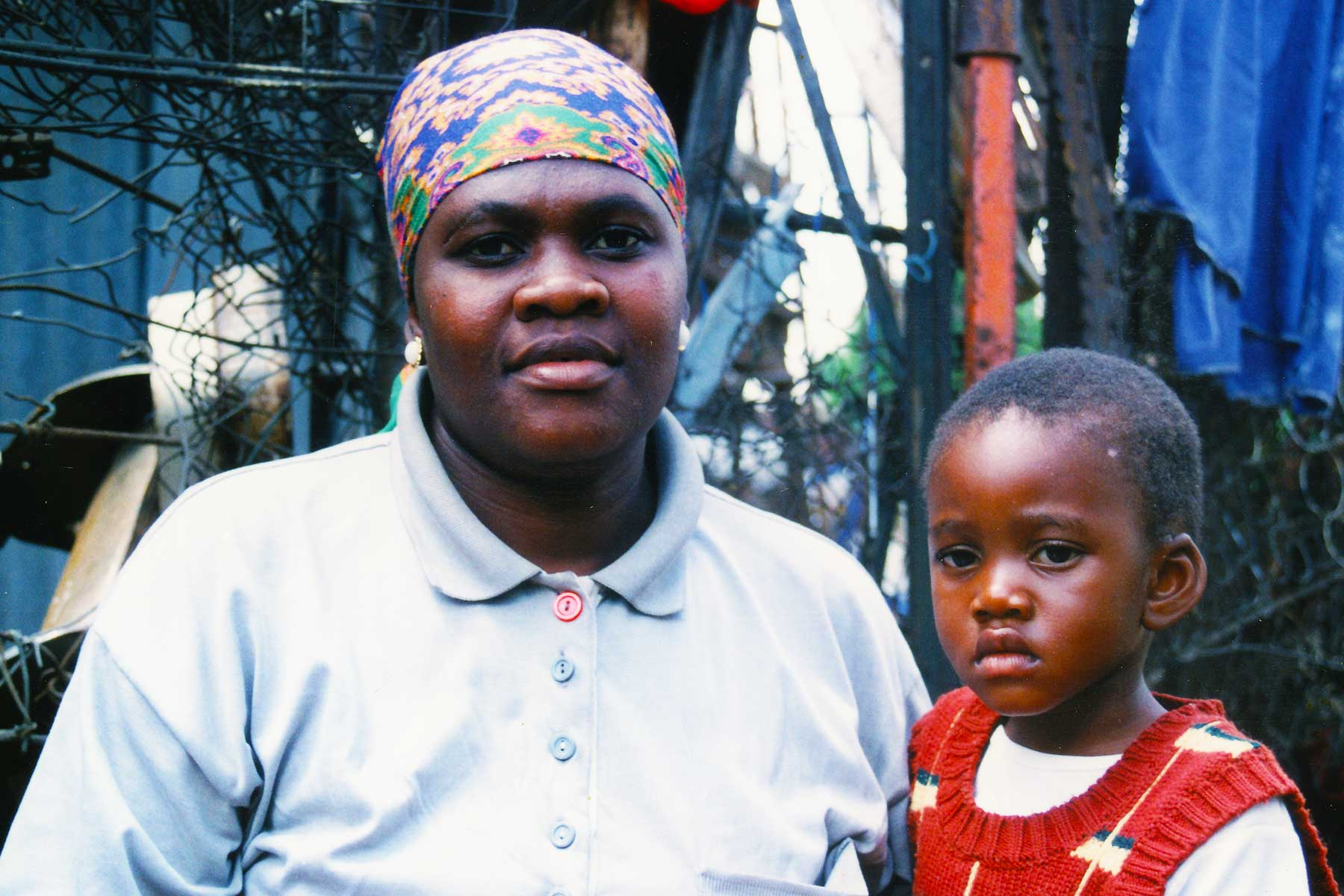Xhosa mother and child at Soweto, South Africa   Steven Andrew Martin   School for International Training   SIT Study Abroad   Photo Journal