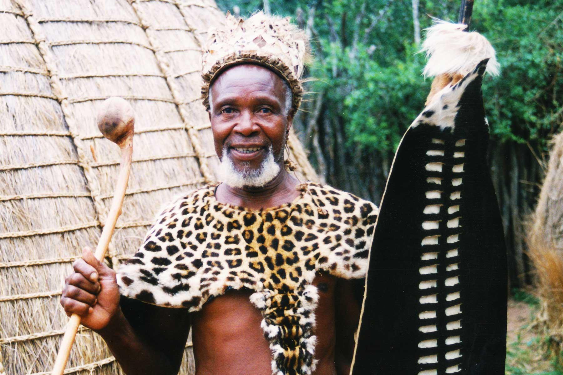 KwaZulu-Natal - Zulu Warrior - Steven Andrew Martin - South Africa Photo Journal - Zulu cultural park - Dr. Steven Martin