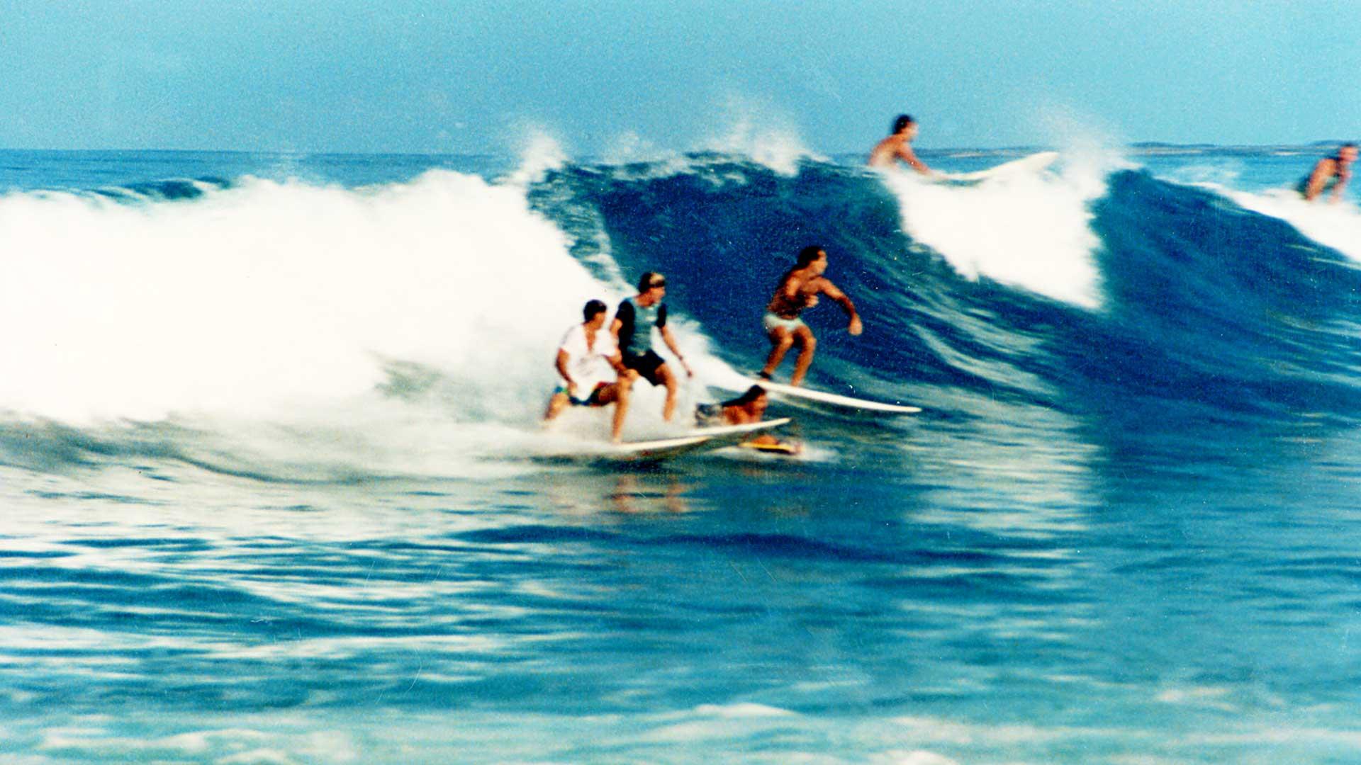 Steven Andrew Martin 1980s – Surfing at Lyman's Point, Kailua-Kona, Big Island