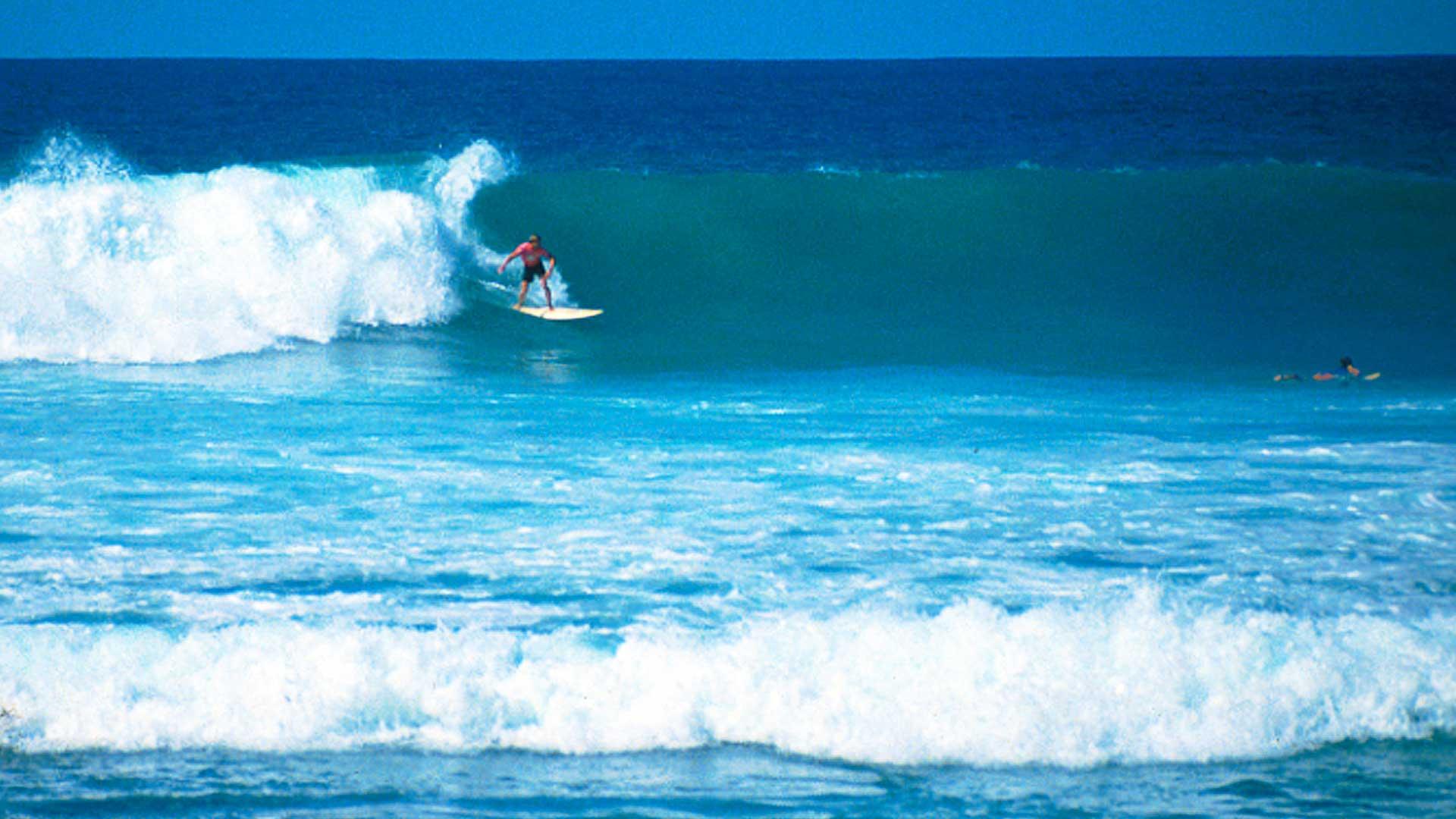 Steven Andrew Martin 1992 | South swells at Lyman's Point, Kailua-Kona, Big Island