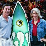 Astronaut Scott Horowitz and Lisa after surfing in Hawaii - NASA Astronaut Appearance