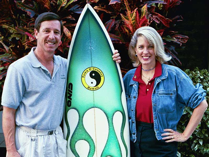 Steven Andrew Martin - Astronaut Scott Horowitz in Hawaii - NASA Surfing