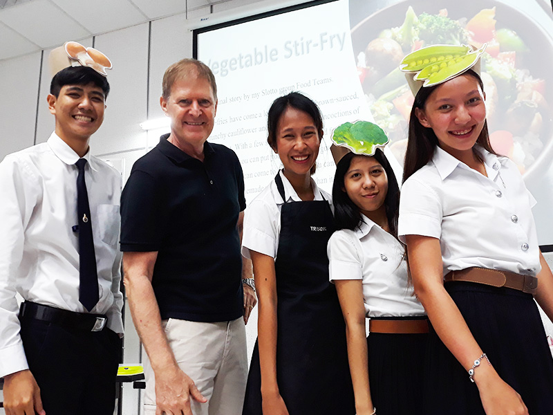Food Environment class - Dr Steven Andrew Martin and students - Environmental Studies