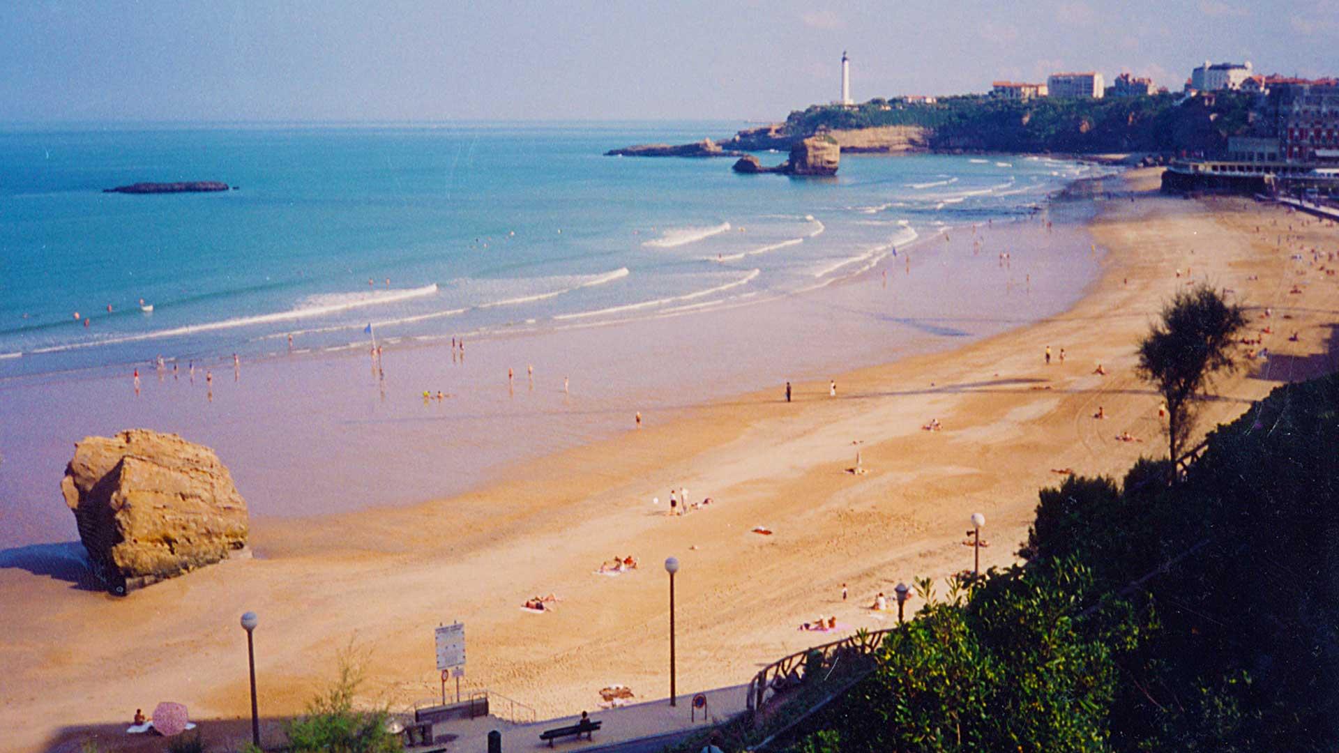 Steven Andrew Martin | Surfing Grande Plage, Biarritz, France | 1993 Surf Journal