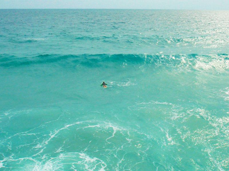Surfing Karon Beach, Phuket, Thailand - Steven Andrew Martin