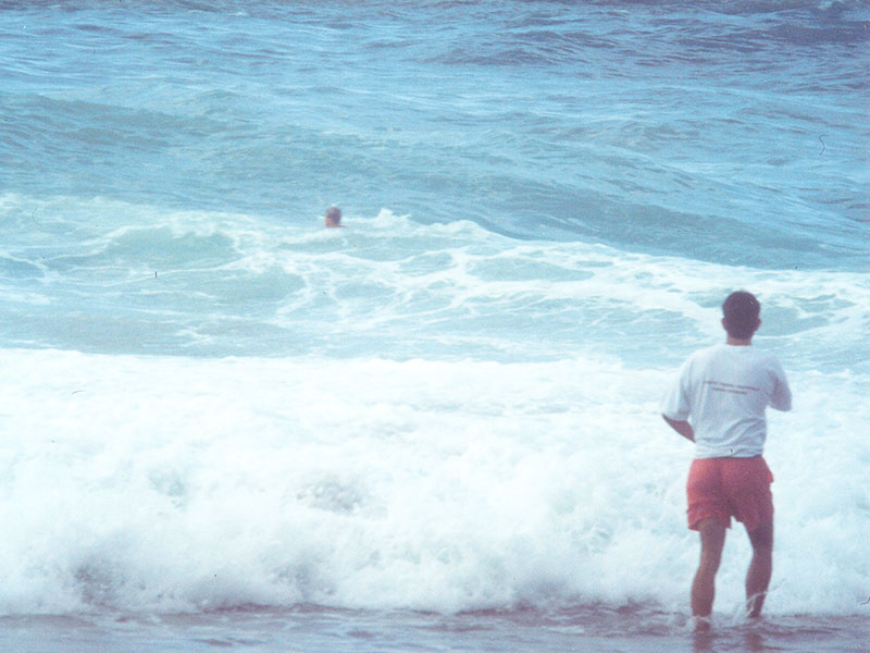 Steven Andrew Martin nearly drowning | Surfing Grande Plage, Biarritz, France | Ocean Rip-current