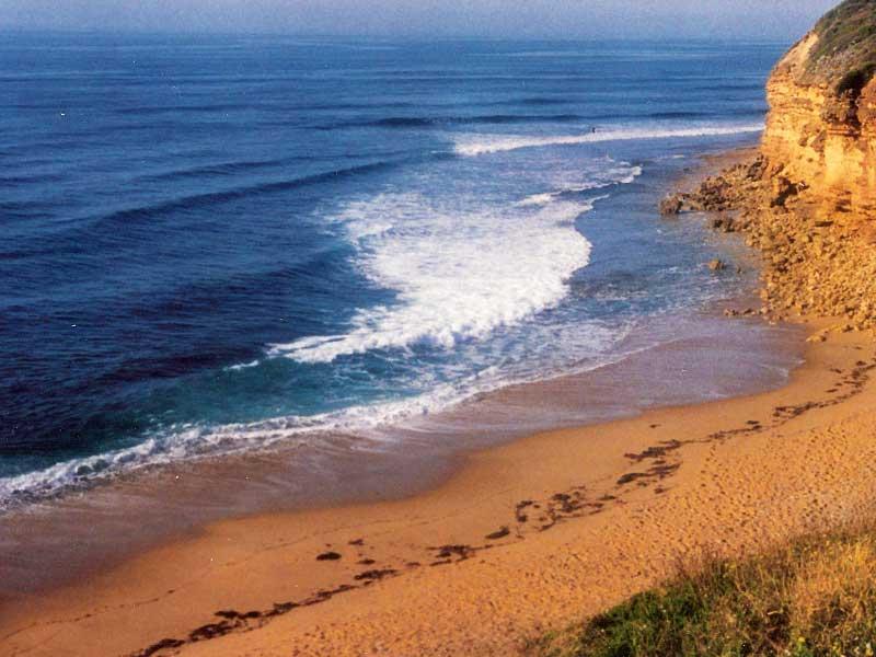 Steven Andrew Martin 1992 | Surfing Bells Beach, Australia
