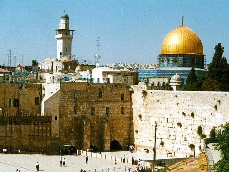Jewel of Travel | Jerusalem Israel | Western Wall 1998 | Steven Andrew Martin | Photo Journals