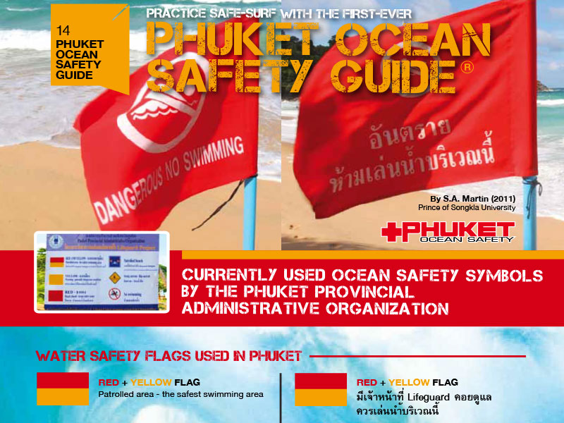 Phuket Ocean Safety Guide - Dr Steven Andrew Martin - Lifeguarding and Water Safety