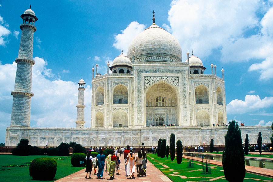 Taj Mahal Agra India 2001 - Steven Andrew Martin - Jewel of Travel