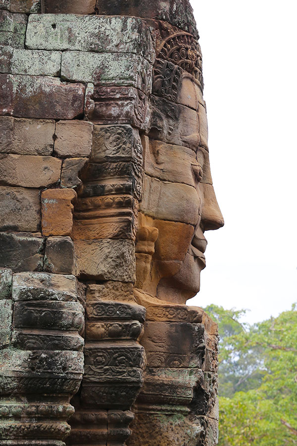 Bayon Buddha Faces - Angkor Cambodia - Dr Steven Andrew Martin - Research Journal