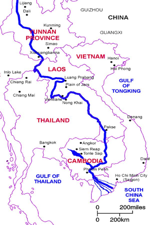 Mekong River - Southeast Asia