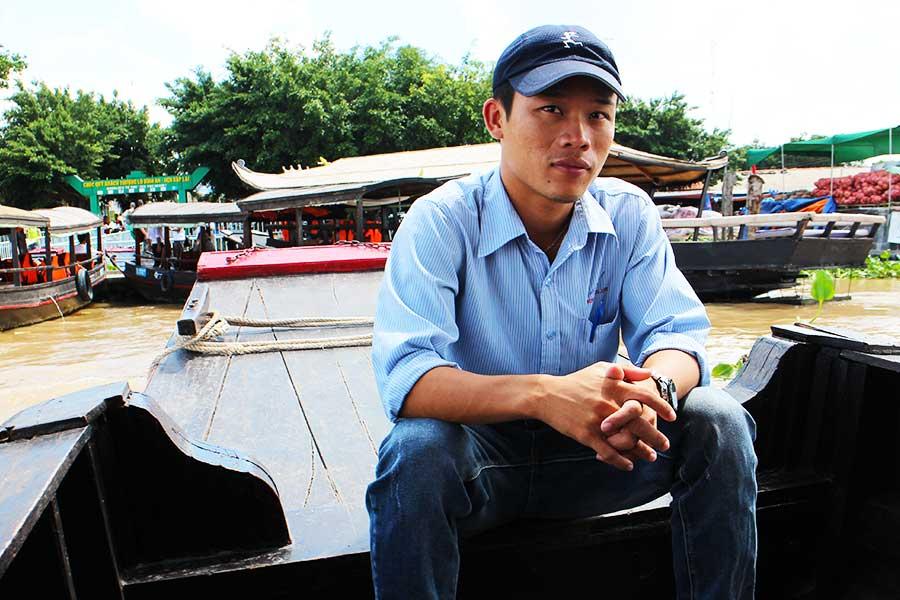 Nguyễn Minh Phương, certified Mekong Delta guide