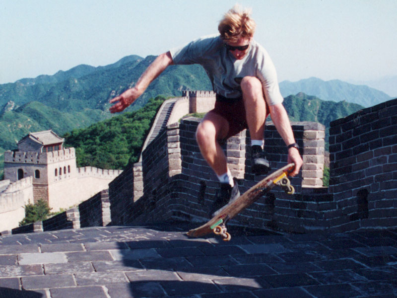 Skateboarding Great Wall China | Steven A. Martin PhD | Asian Studies | Chinese Philosophy | Steven Martin