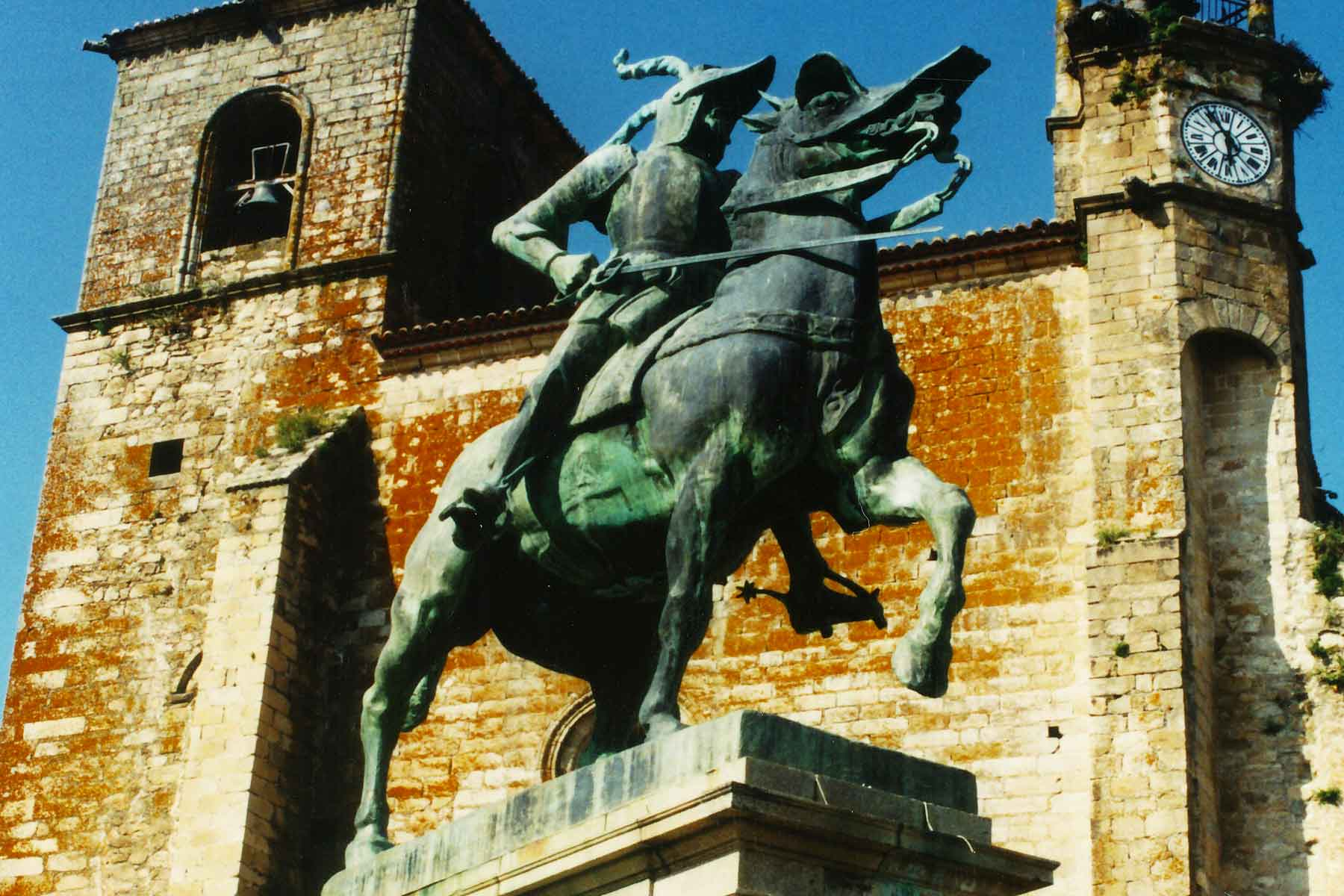 Francisco Pizarro Statue - Trujillo Spain - Study Abroad Journal - Steven Andrew Martin