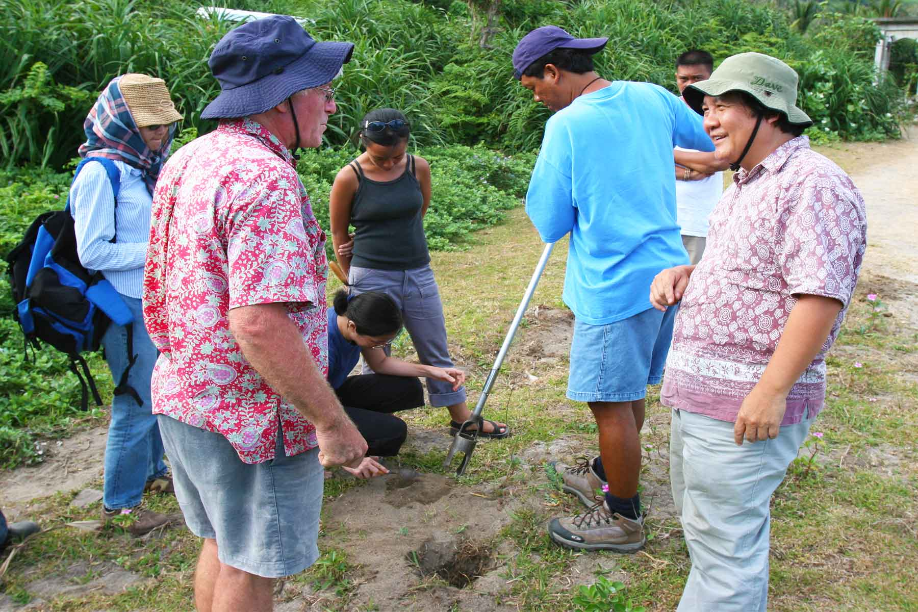 Archaeological survey - March 2006, with Peter Bellwood - Batanas Islands - Steven Andrew Martin