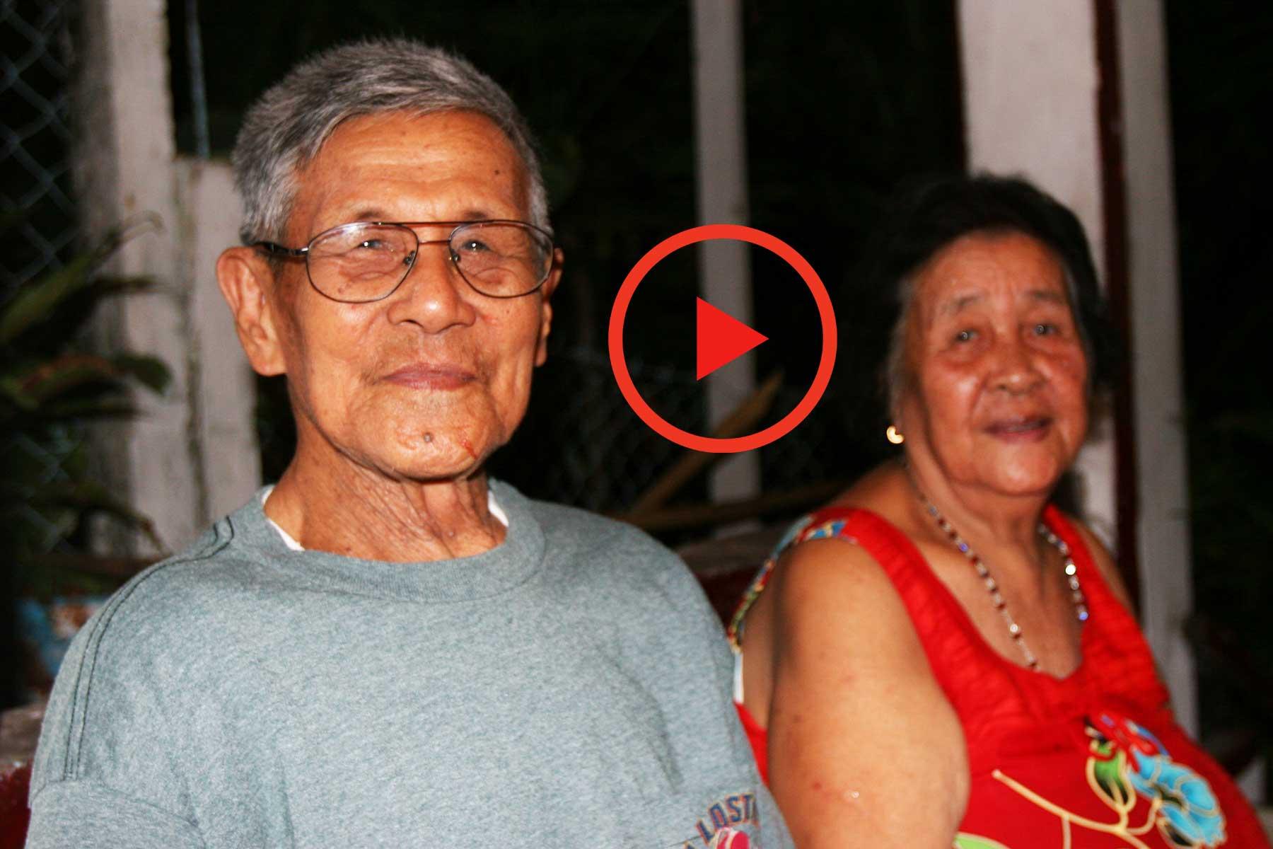 Batanes Islands Oral History Videos - Pablo and Anquilina Valientes - Ivana, Batan - David Blundell - Steven A Martin