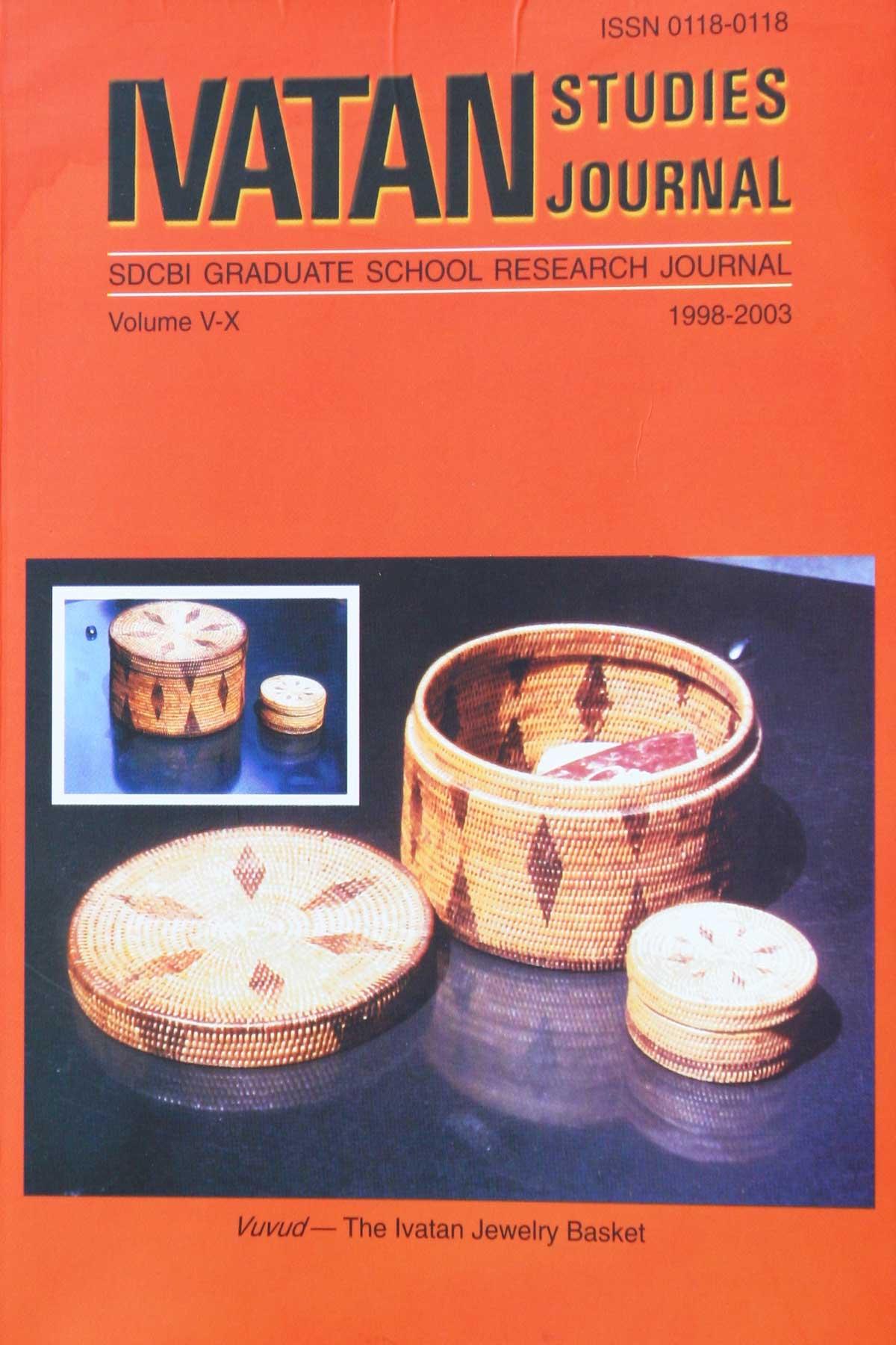 Ivatan Studies Journal - Graduate School Research Journal - Photo Dr Steven A Martin - Basco Batanes Philippines 2006