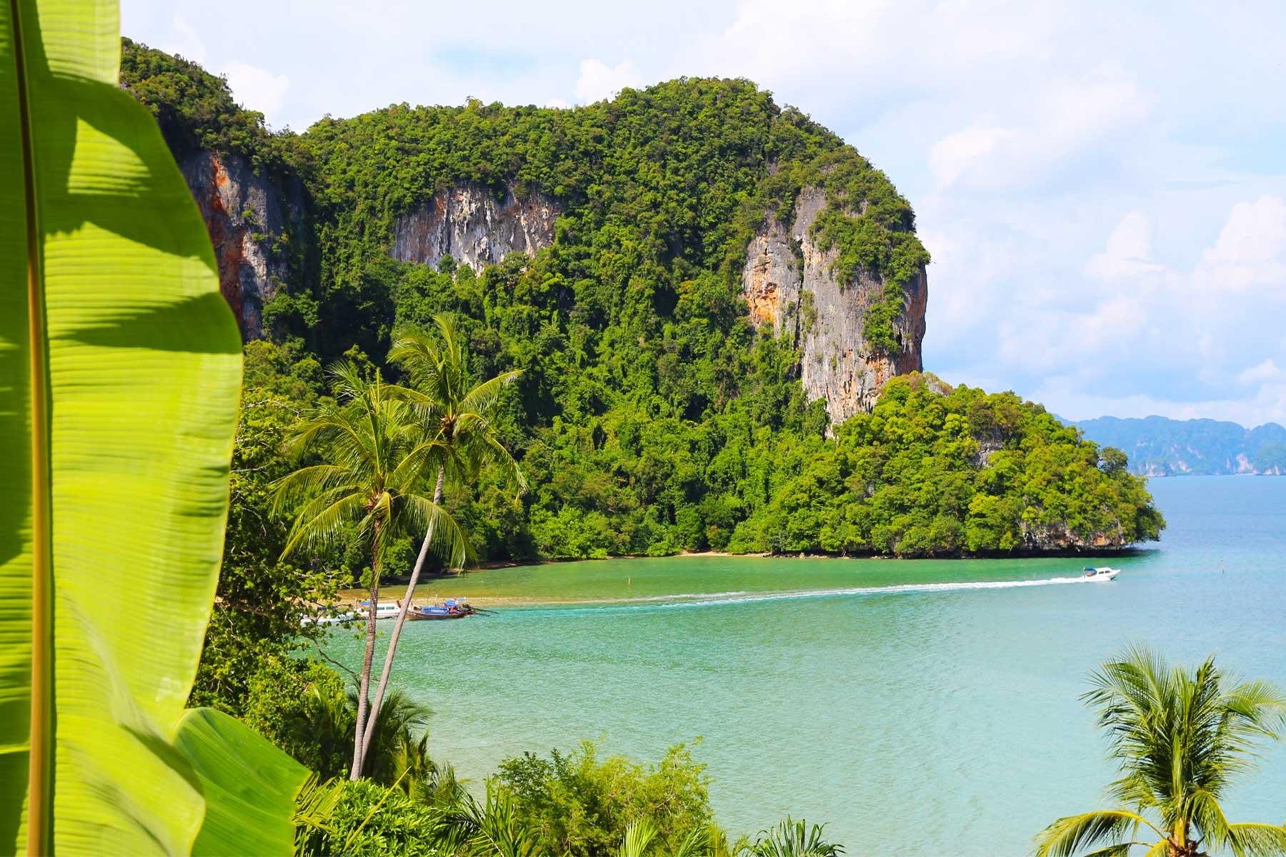 Limestone Karst Research - Ao Phang Nga Marine National Park, Thailand - Environmental Studies - Dr Steven Andrew Martin