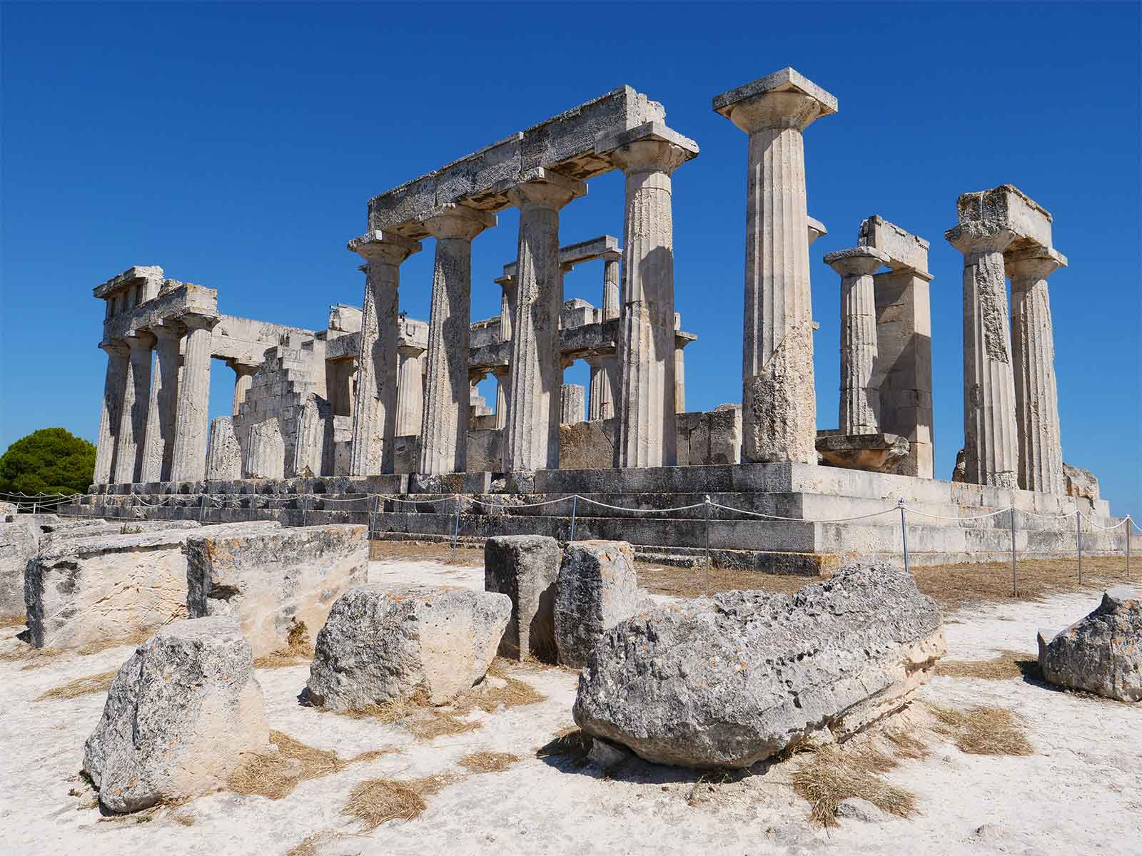 Temple of Aphaea | Goddess Aphaia | Aegina Island | Dr Steven Andrew Martin | Greek Archaeology Research