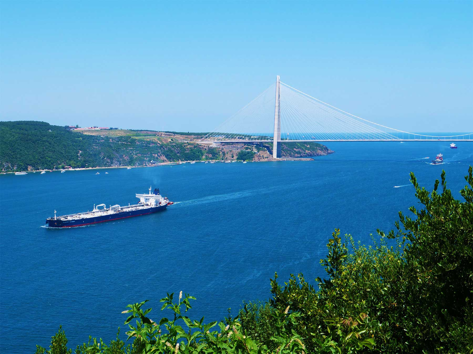 Bosphorus Black Sea Istanbul Turkey | Photo Dr Steven Andrew Martin | Teaching and Learning Adventures 2019